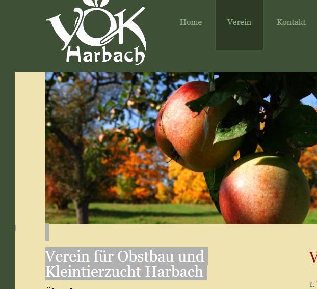 Verein für Obstbau und Kleintierzucht Harbach